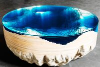 A Cross Section of the Sea Floor, Recreated in a Coffee Table