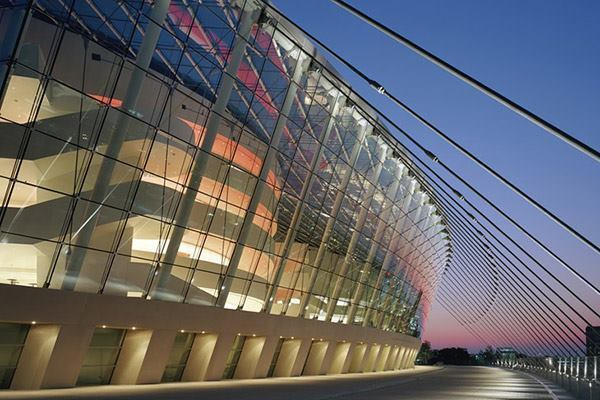 Kauffman Center for the Performing Arts in Kansas City, Mo., by BNIM.