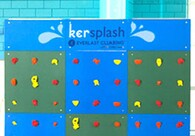 Kersplash Climbing Walls: Combine Two Hot Trends