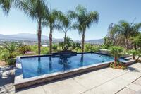 Pool With a Classic California View Earns Praise