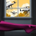 Peeping Drones
