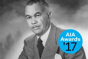 Paul Revere Williams Wins the 2017 AIA Gold Medal