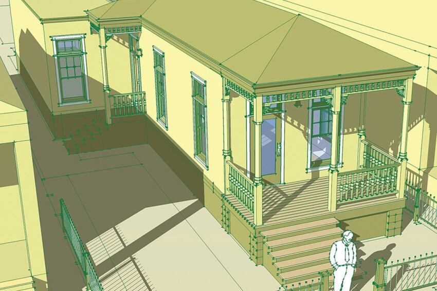 Miletus Group's Shotgun House Project
