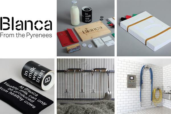 Blanca from the Pyrenees, Blanca Branding and Communication strategy, Spain, 2012, in collaboration with Lo Siento Studio.