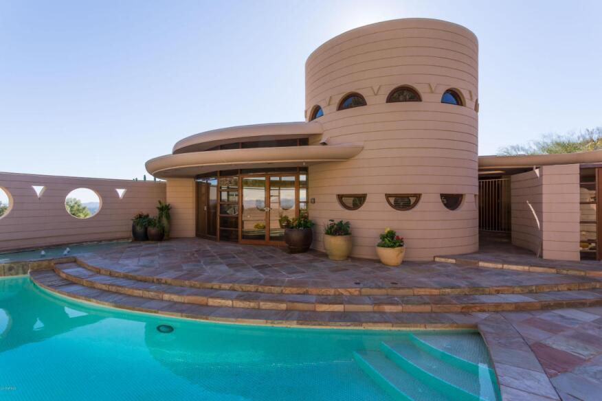 Frank Lloyd Wright Architecture the last home designedfrank lloyd wright is for sale