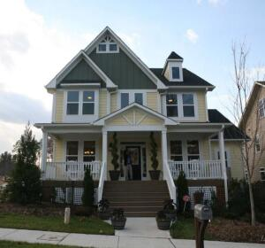 """The first home to be certified under the EPA's WaterSense New Home pilot program, Vanguard's """"Sensibly Green"""" house also follows NAHB and Green Home Builders of the Triangle green building guidelines."""
