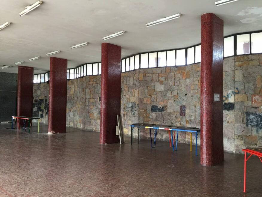 Liceo Héctor Miranda (1954), designed by Acosta, Brum, Careri, and Stratta