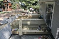 Supporting a Deck With a Retaining Wall