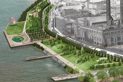 Riverfront Development Plan
