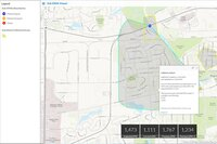Nighttime Flow Analysis solution from Esri