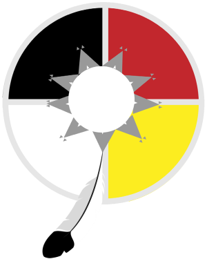 "The Lakota Medicine Wheel, a symbol in Kevin Hancock's book ""Not for Sale"""