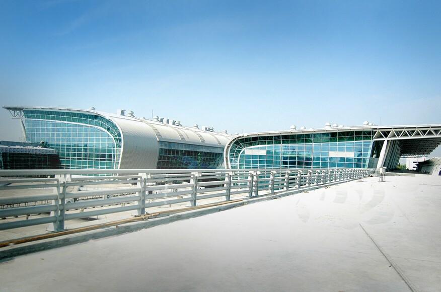 Chennai Airport Architect Magazine Creative Group Chennai India Infrastructure Planning
