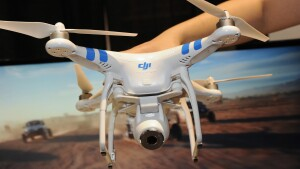 Drone restrictions banned unmanned aerial vehicles from flying over designated areas.