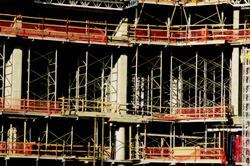 Formwork and shoring typically represent more than 50% of the cost of cast-in-place structural concrete, with form and shore costs often as high as 60% to 70% of the structural costs.