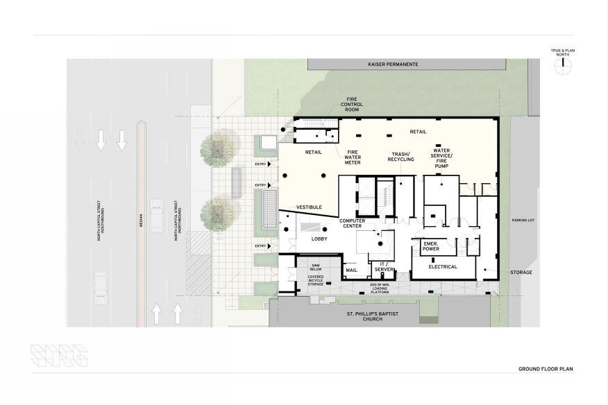 Ground floorplan.