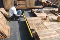 Replacing a Rooftop Deck
