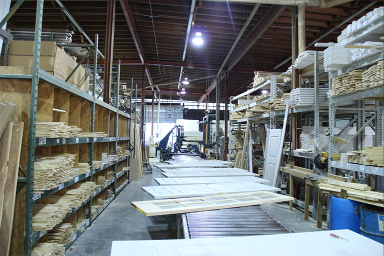 Guy C. Lee Building Materials' millwork operation