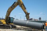 AASHTO-approved polypropylene stormsewer pipe
