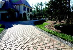 These rich looking PICP pavers feature patterns and textures to complement any home landscaping.