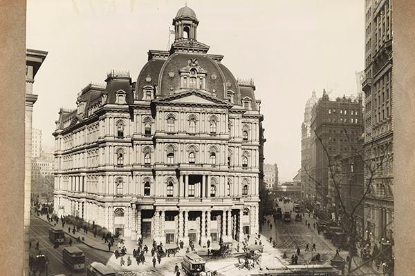 New York Post Office, 1902