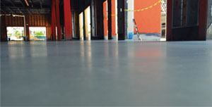 Self-leveling overlay products are used to restore warehouse floors and can stand up to the wear that forklifts impose.
