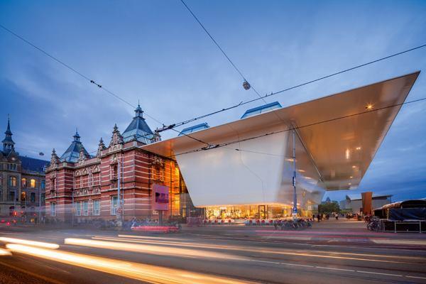 Stedelijk Museum, Amsterdam, by Benthem Crouwel Architekten.
