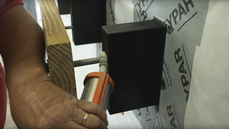 Installing Deck Ledgers Over Exterior Insulation