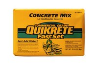 Fast set concrete mix