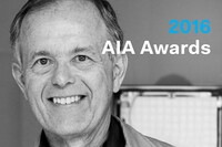 Douglas S. Kelbaugh Wins 2016 AIA Topaz Medallion