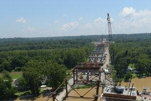 Challenging Formwork for Ohio River Bridge