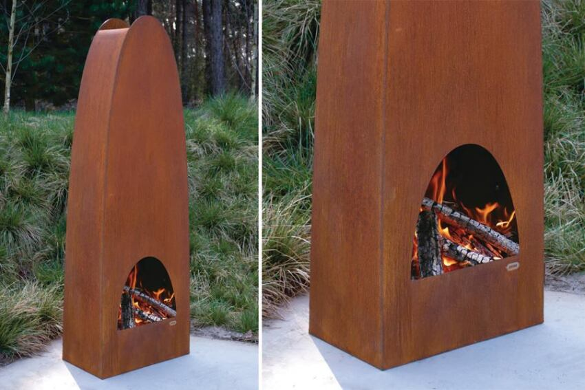 Zeno's Colonna Fireplace Is Dutch-Designed and Crafted