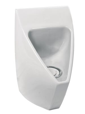 The F7000 waterfree urinal by Falcon Waterfree Technologies has a splash-free bowl design created by a new shape for the interior of the bowl. Saving up to 40,000 gallons of fresh water per year, according to the company, the fixture has a low purchase and lifecycle cost. It also reduces carbon footprints by eliminating the energy-intensive transport and treatment of water that is required for water-flushing urinals. It is suitable for both new construction and restroom upgrades. falconwaterfree.com