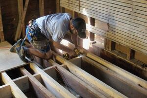 New Joists for an Old Floor