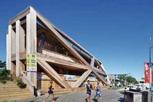 Fire Island Pines Pavilion, Designed by Hollwich Kushner (HWKN)