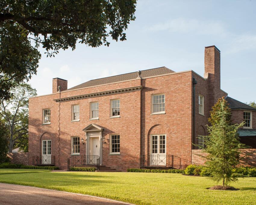 C. Milby Dow Residence, Houston    Stern and Bucek Architects, Houston