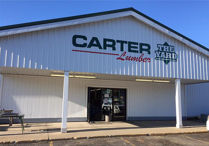 Carter Lumber Before