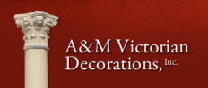 A & M Victorian Decorations, Inc. Logo