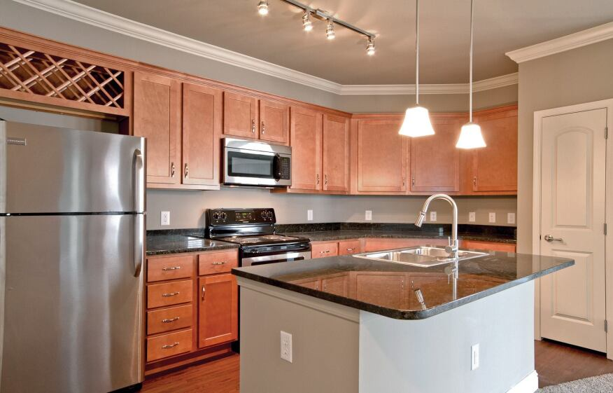 The Indianapolis property boasts luxury finishes in common areas while also providing stylish interiors for each unit.