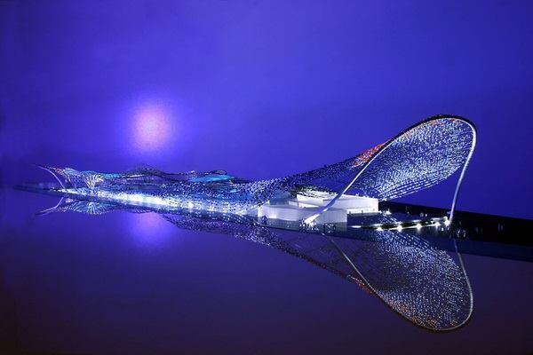 Margie Ruddick's perimeter concept for the New York Aquarium in Coney Island, N.Y.