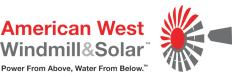 American West Windmill & Solar Logo