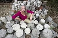 Concrete Art Strengthens Historic Link
