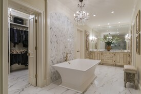 Renovating a Master Bath into a Cohesive Master Suite