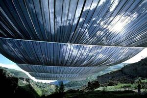 """Christo Walks Away from """"Over the River"""" Battle"""