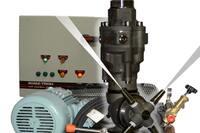High Pressure Mixer Washout System