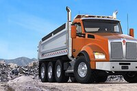 Natural Gas Truck from Kenworth