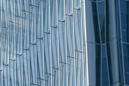 China World Trade Center: Glass Fins