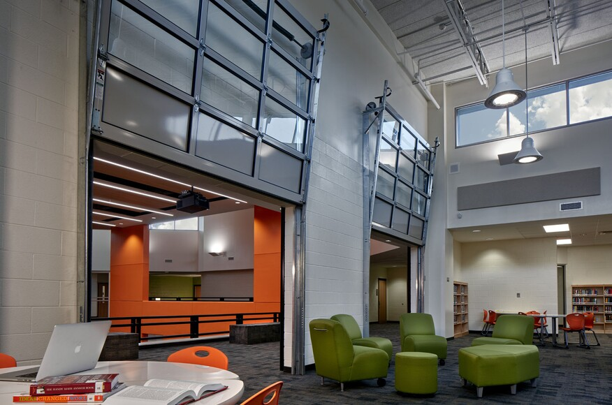 Architectural innovations for immersive learning environments in k 12 schools architect for Fulton homes design center phone number