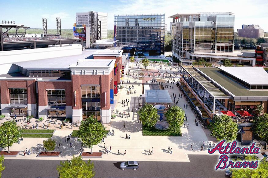 Rendering of mixed-use development from Dec. 10, 2014.