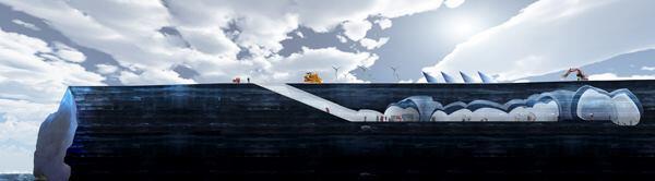 Iceberg Living Station