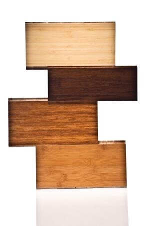 "BR111 Exotic Hardwood Flooring has introduced a 5/8""-thick solid Green Label line and a collection of bamboo flooring. The 5/8"" line includes woods such as macchiato pecan, amendoim, tigerwood, Brazilian cherry, wenge, sapelli, and afzelia and uses 36% less raw lumber than the existing 3/4"" line. The bamboo collection is launching with eight solids and seven engineered finishes. Its available in widths from 3-3/4"" to 5"". ¢ br111.com"